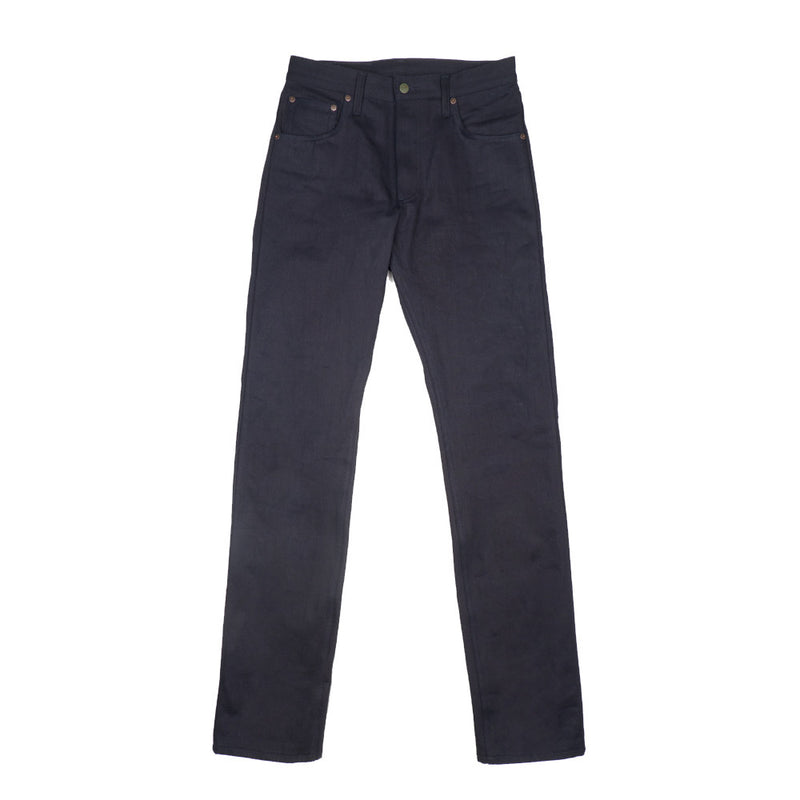 Left Field -Left Field x BlackBlue Greaser Jeans—Collect Mills 15 ounce Black Weft - BlackBlue - Default - 1