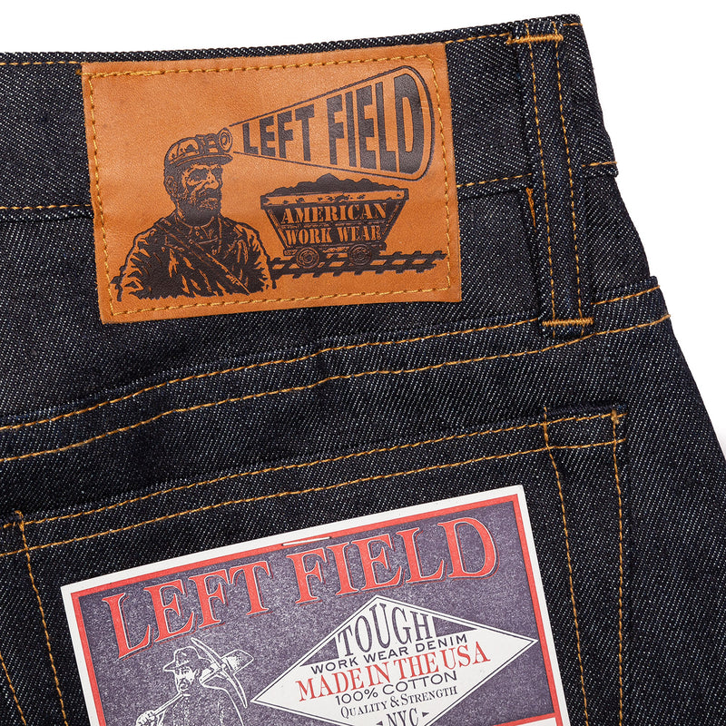 Left Field Atlas Cone Mills 13 oz Patch Detail