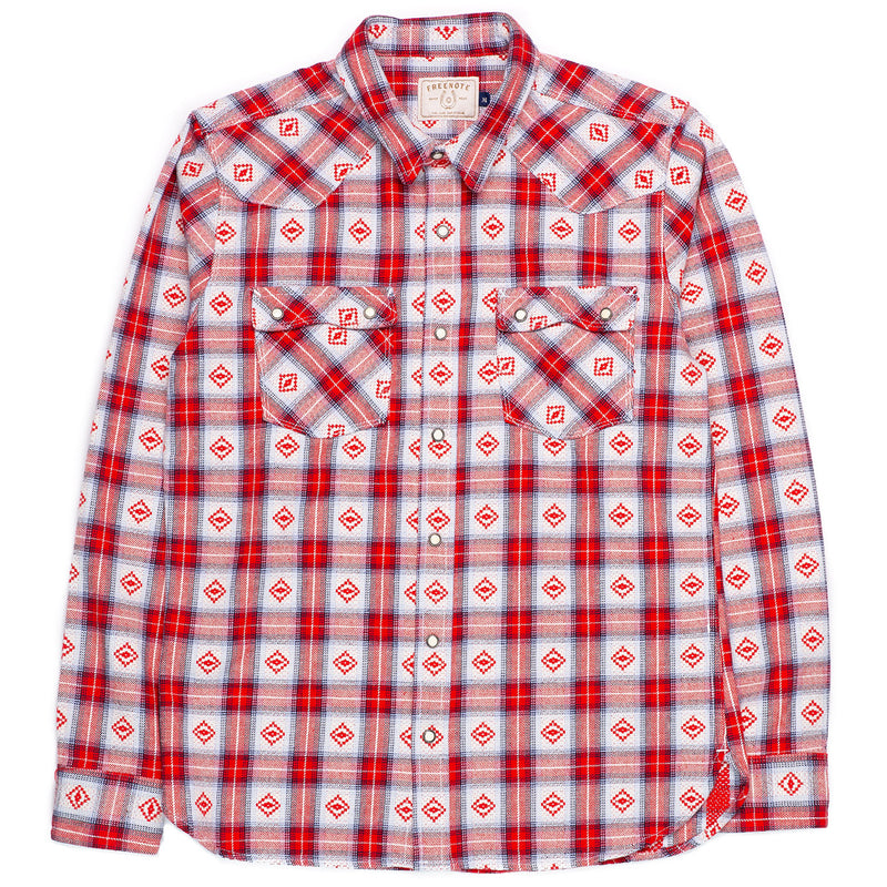 Freenote Cloth Modern Western True Red Front