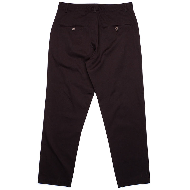 Universal Works Military Chino Black Rear