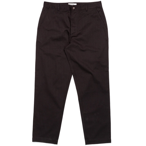 Universal Works Military Chino Black Front