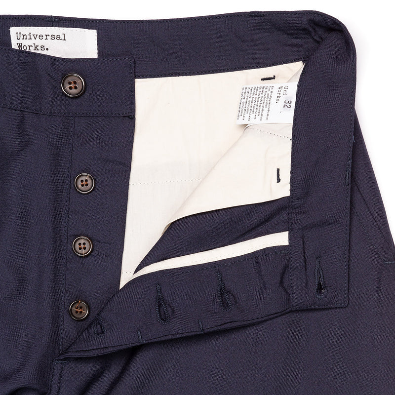 Universal Works Military Chino Navy Button Fly