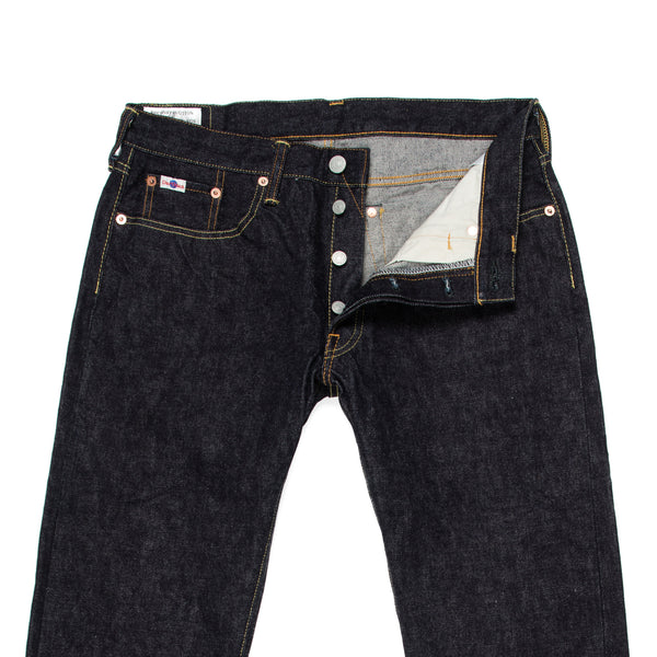 Studio D'Artisan -Studio D'Artisan SD-107 Jeans—One Wash 15 oz Selvage - BlackBlue - Default - 2