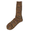 AnonymousIsm Five Color Crew Sock Olive