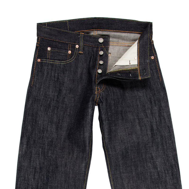 Pure Blue Japan -PBJ XX-003 Jeans—Raw 14 ounce Selvage Denim - BlackBlue - Default - 2