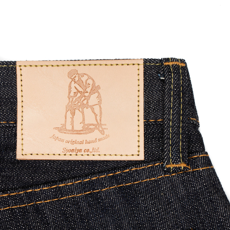 Pure Blue Japan -PBJ XX-003 Jeans—Raw 14 ounce Selvage Denim - BlackBlue - Default - 5
