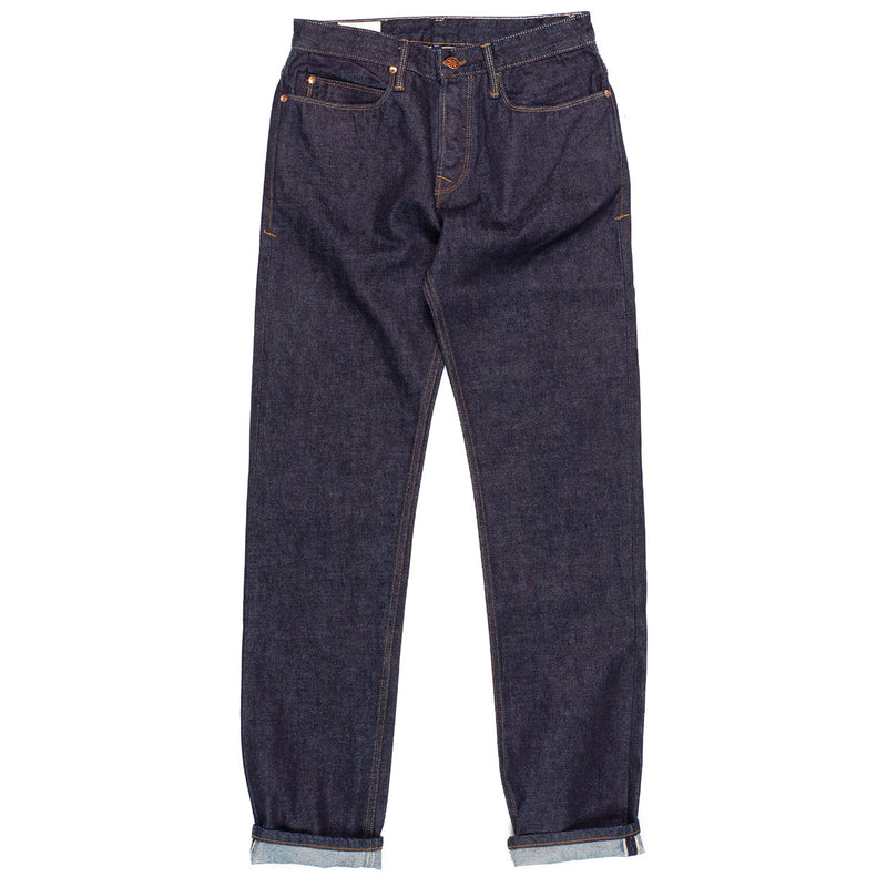 Freenote Cloth Portola 14.25 oz Indigo Rinsed Front