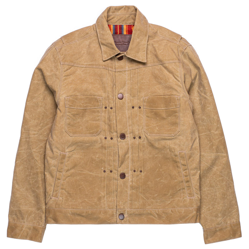 Freenote Cloth Riders Jacket Tobacco Front