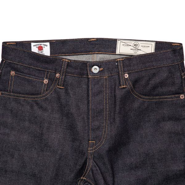 Rogue Territory Standard Issue 15oz Denim Front Detail