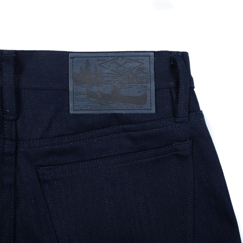 BlackBlue x Left Field Charles Atlas - 17 oz Black Weft Denim