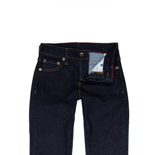 Raleigh Denim + Workshop -Raleigh Union Women's Jean—Raw Indigo - BlackBlue - Default - 2