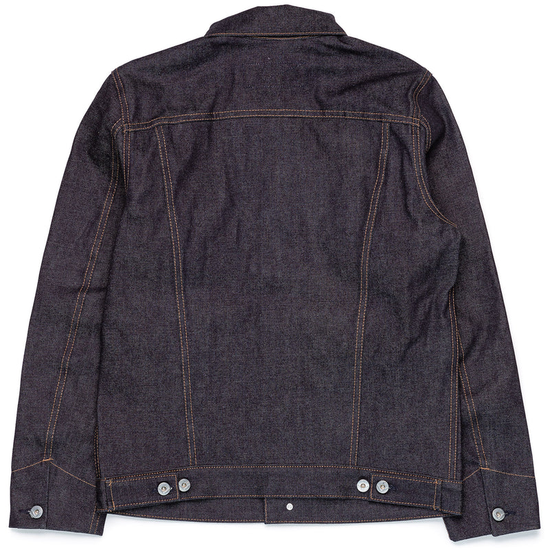 Rogue Territory Supply Jacket 15oz Indigo Back