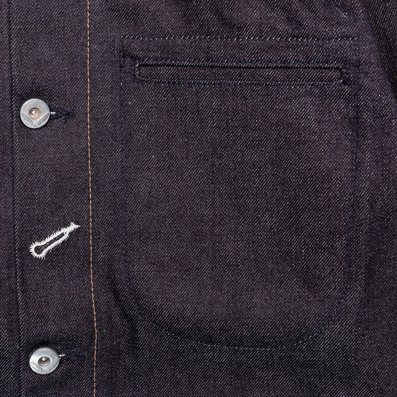 Rogue Territory Supply Jacket 15oz Indigo Chest Pocket