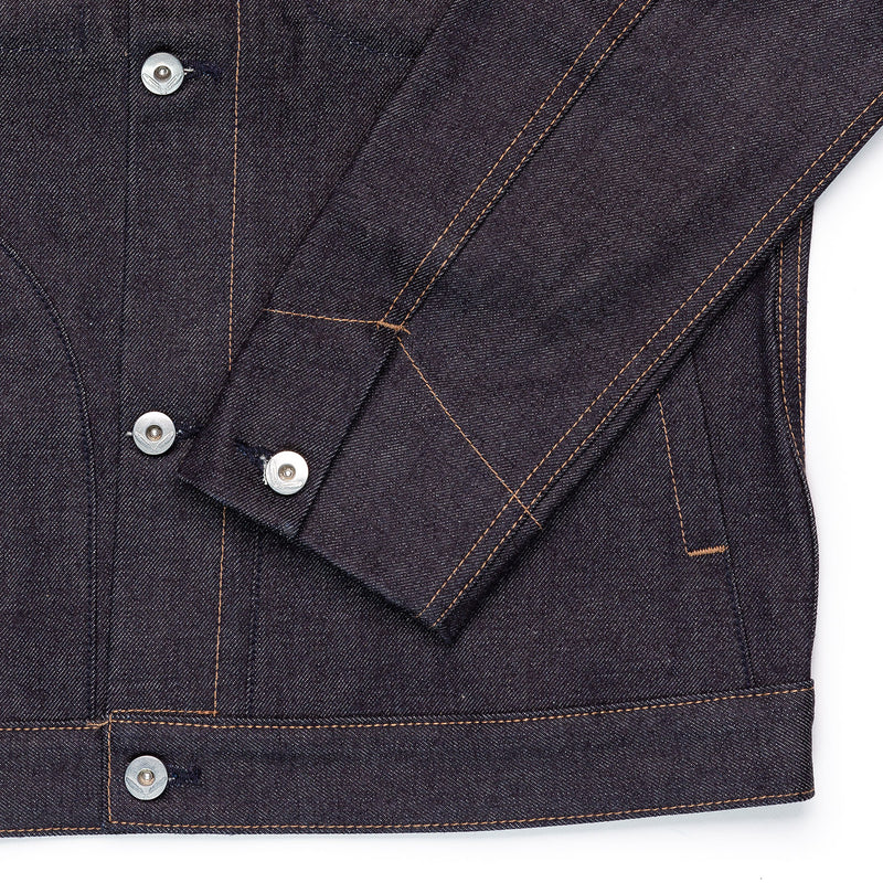 Rogue Territory Supply Jacket 15oz Indigo Cuff