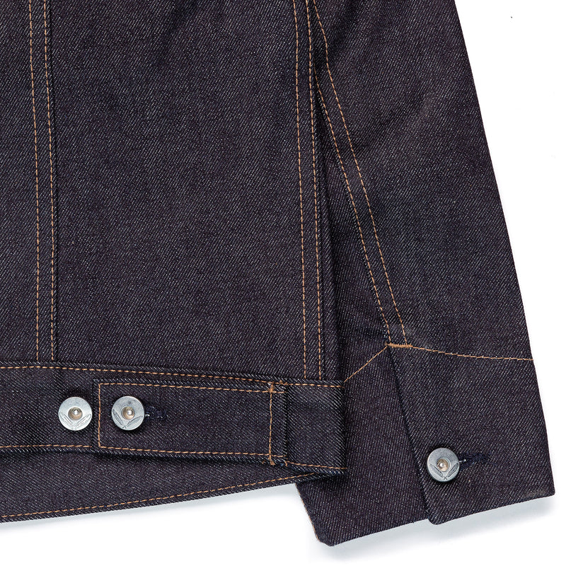 Rogue Territory Supply Jacket 15oz Indigo Adjustable Waistband Tabs