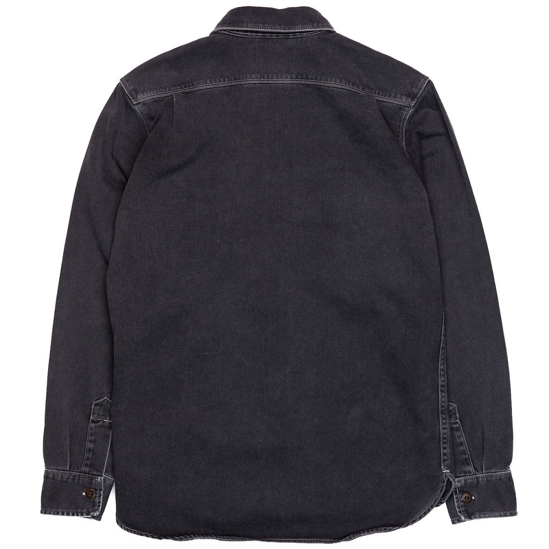 Freenote Cloth Utility Shirt Charcoal Back