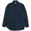 Engineered Garments Work Shirt Blackwatch Big Repeat Madras Front