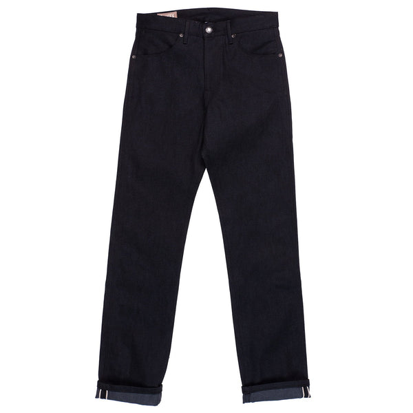 Freenote Cloth Wilkes Black Grey Denim Front