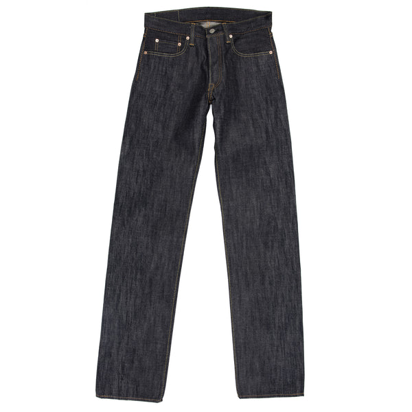 Pure Blue Japan -PBJ XX-003 Jeans—Raw 14 ounce Selvage Denim - BlackBlue - Default - 1