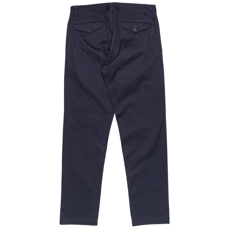Universal Works Aston Pant Navy Rear