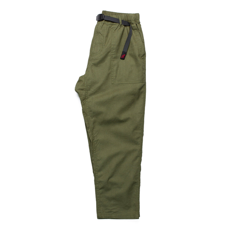 Gramicci Loose Taper Pant Olive Side