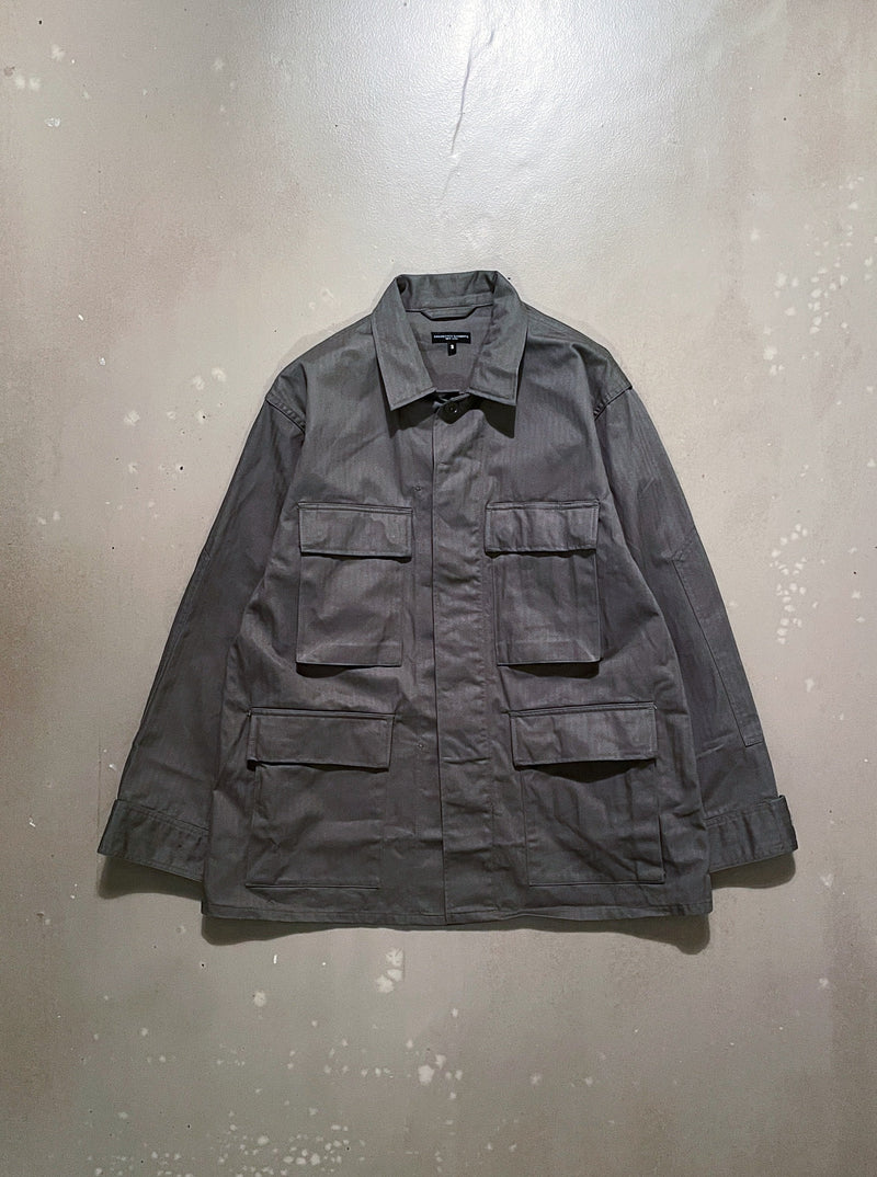 BDU - Olive Cotton Herringbone Twill