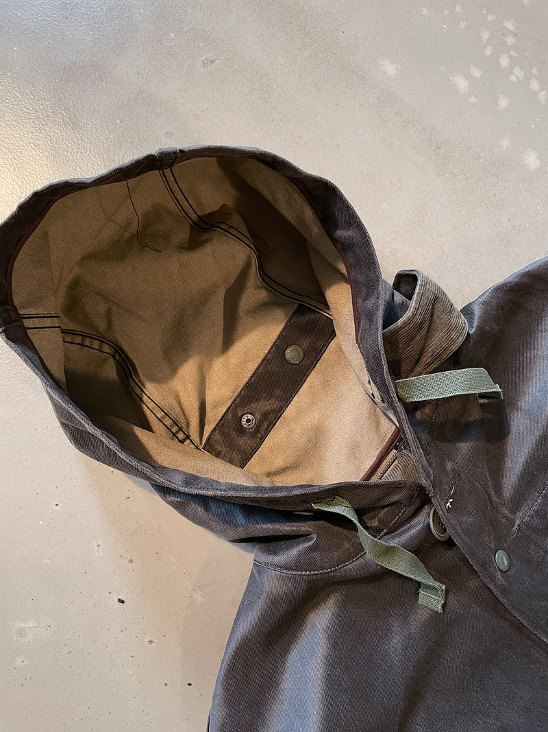Madison Parka - Dark Olive Coated Twill