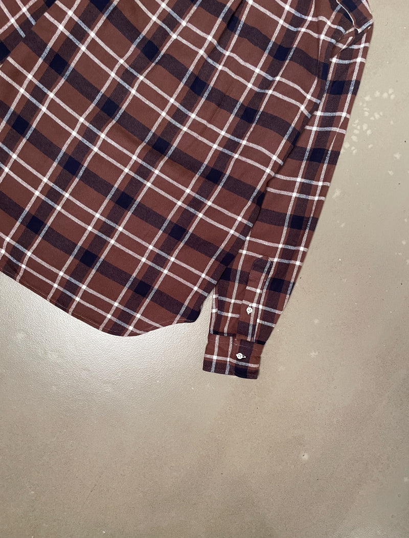 Country Plaid - Brown/Navy