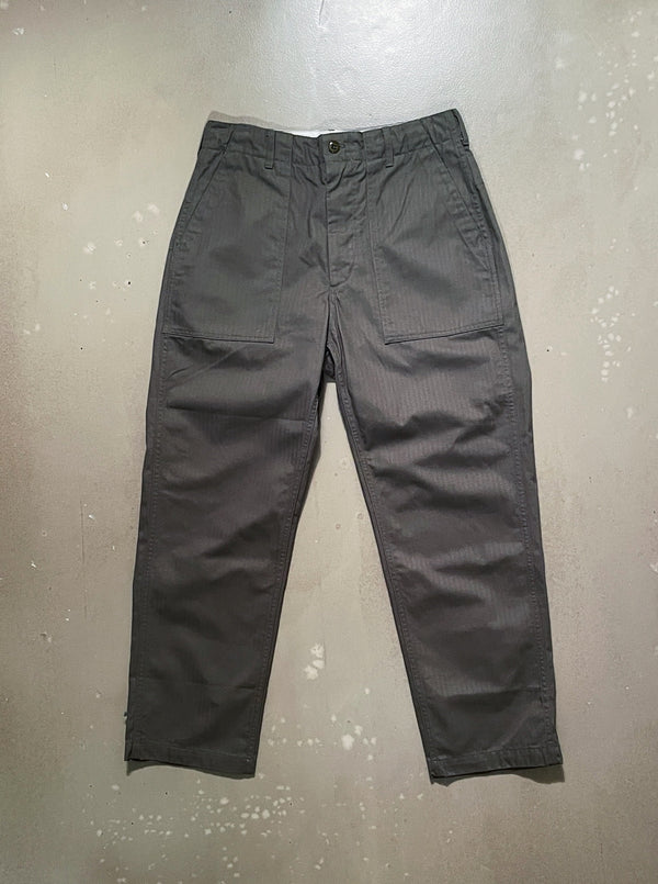 Fatigue Pant - Olive Cotton Herringbone Twill