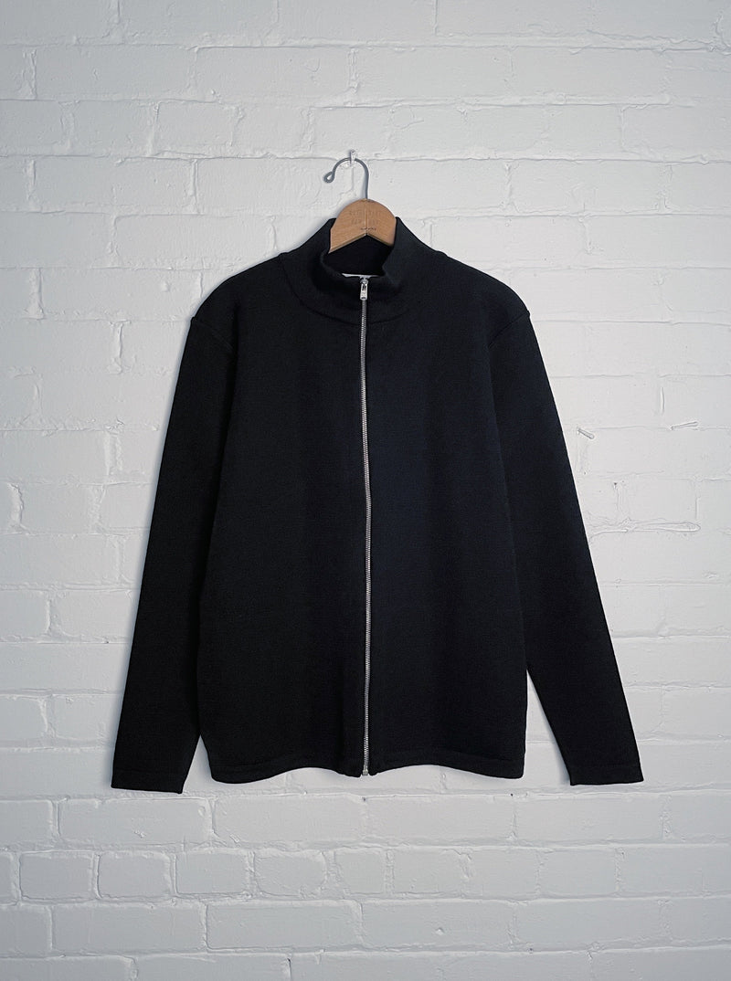 Naval Full Zip - Black