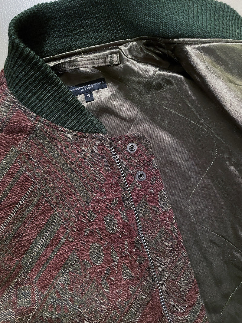 SVR Jacket - Olive Brown Chenille