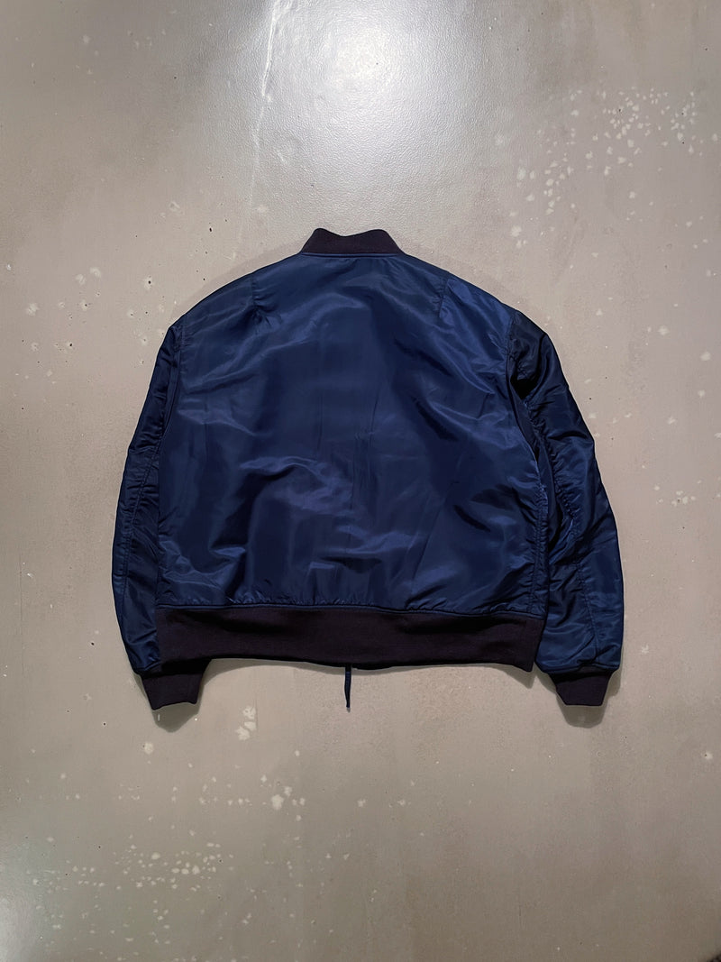 SVR Jacket - Navy Flight Satin Nylon