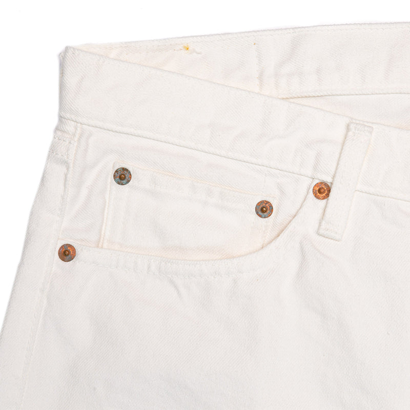 orSlow 107 Ivy Fit White Rivet Details