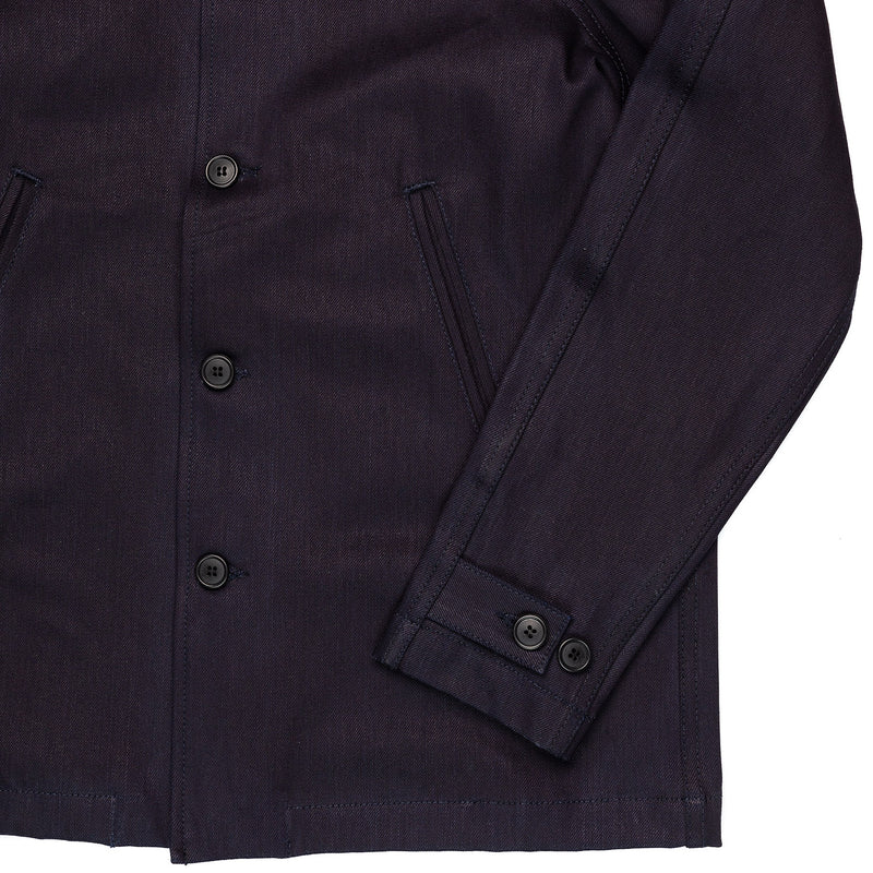 Rogue Territory Peacoat 12oz Dark Denim Cuff