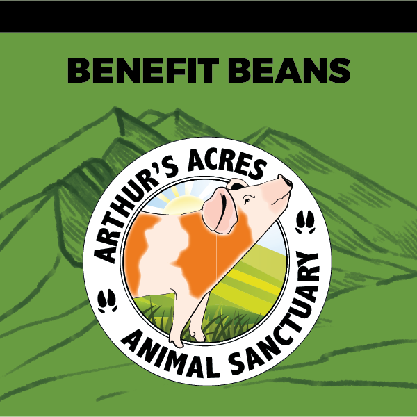 Arthur's Acres Animal Sanctuary Benefit Beans