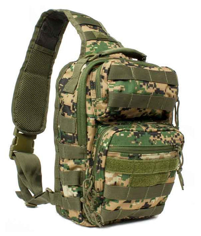 Red Rock Rover Sling Pack - Woodland Digital Camo