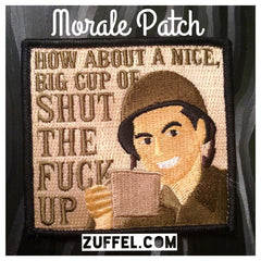 Cup of... Morale Patch - Full Color
