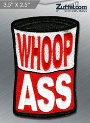 Whoop Ass Morale Patch - Red