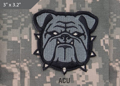 Bulldog Head Morale Patch - ACU