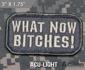 What Now!? Morale Patch - ACU-Light