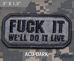 Do It Live Morale Patch - ACU-Dark