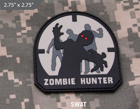 Zombie Hunter Morale Patch - SWAT