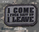 I come Morale Patch - SWAT
