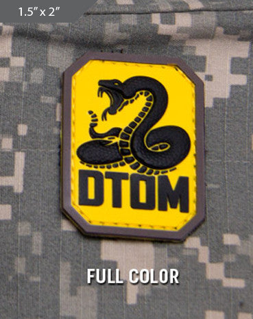 DTOM Morale Patch - Full Color