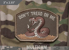 Don't Tread On Me Morale Patch - Multicam