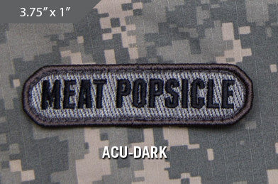 Meat Popsicle Morale Patch - ACU Dark