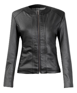 Eco Vegan Leather Jacket 'Lelia'