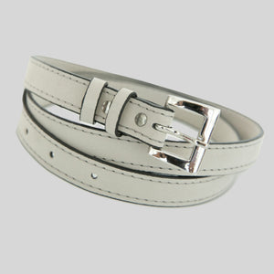 Belts Vegan Leather Slim Buckled Jen