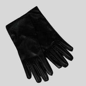 Gloves Vegan Leather 'Jade' Black