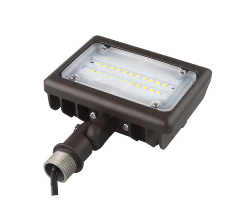 LED STANDARD FLOOD LIGHT 15W - 1,500 Lumens UL & DLC Listed - 5 YEAR WARRANTY